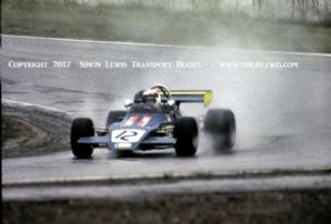 Brabham BT38 photo. J-P Jaussaud Hockenhiem June 1972 2nd place